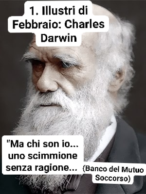 Charles Darwin e la sua Teoria delle Scimmie